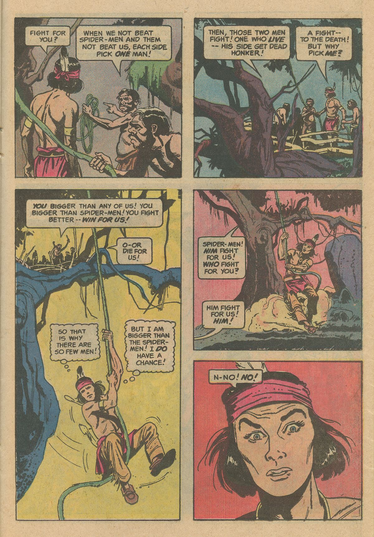 Read online Turok, Son of Stone comic -  Issue #128 - 23