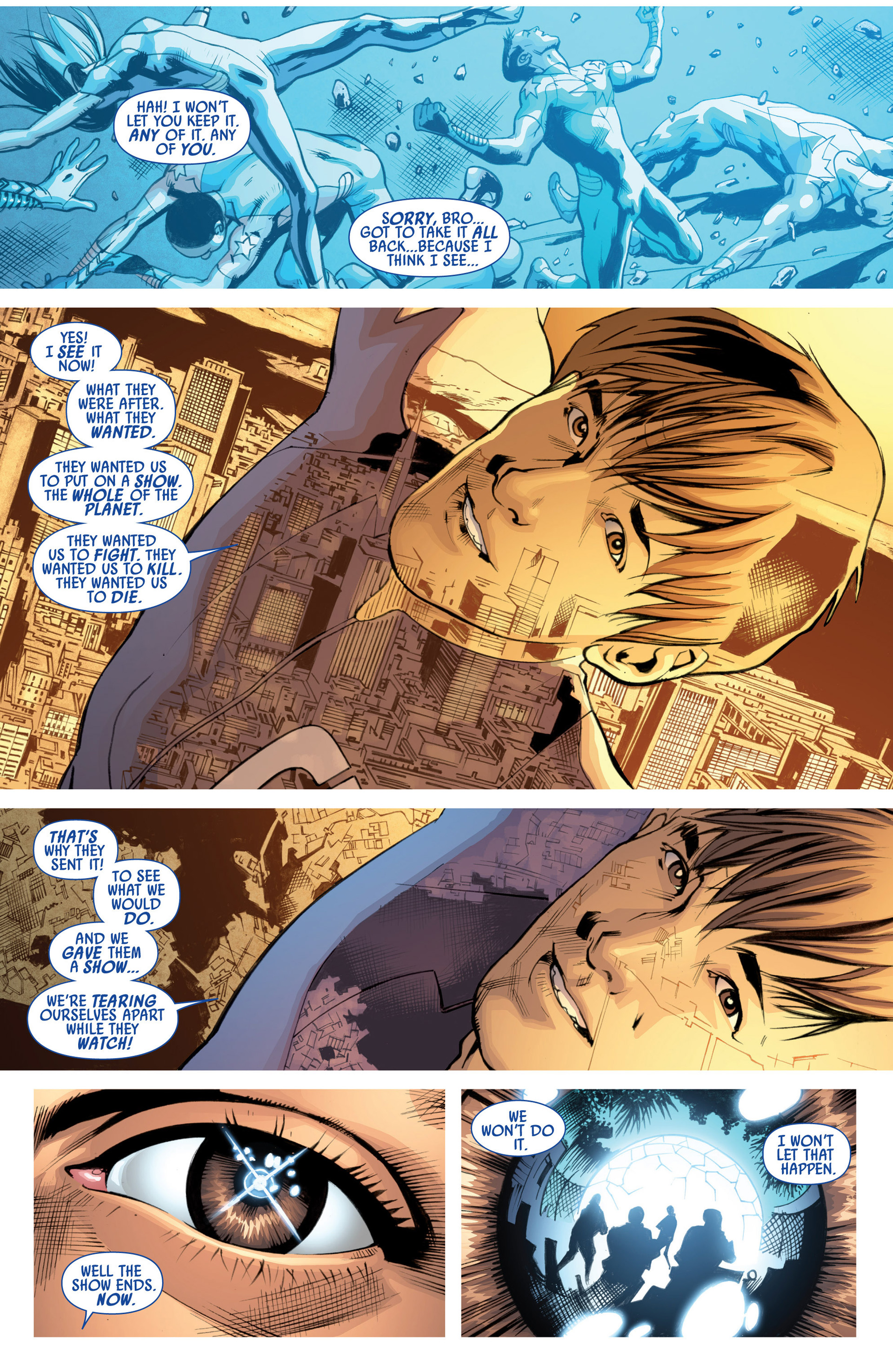 Read online America's Got Powers comic -  Issue #7 - 21