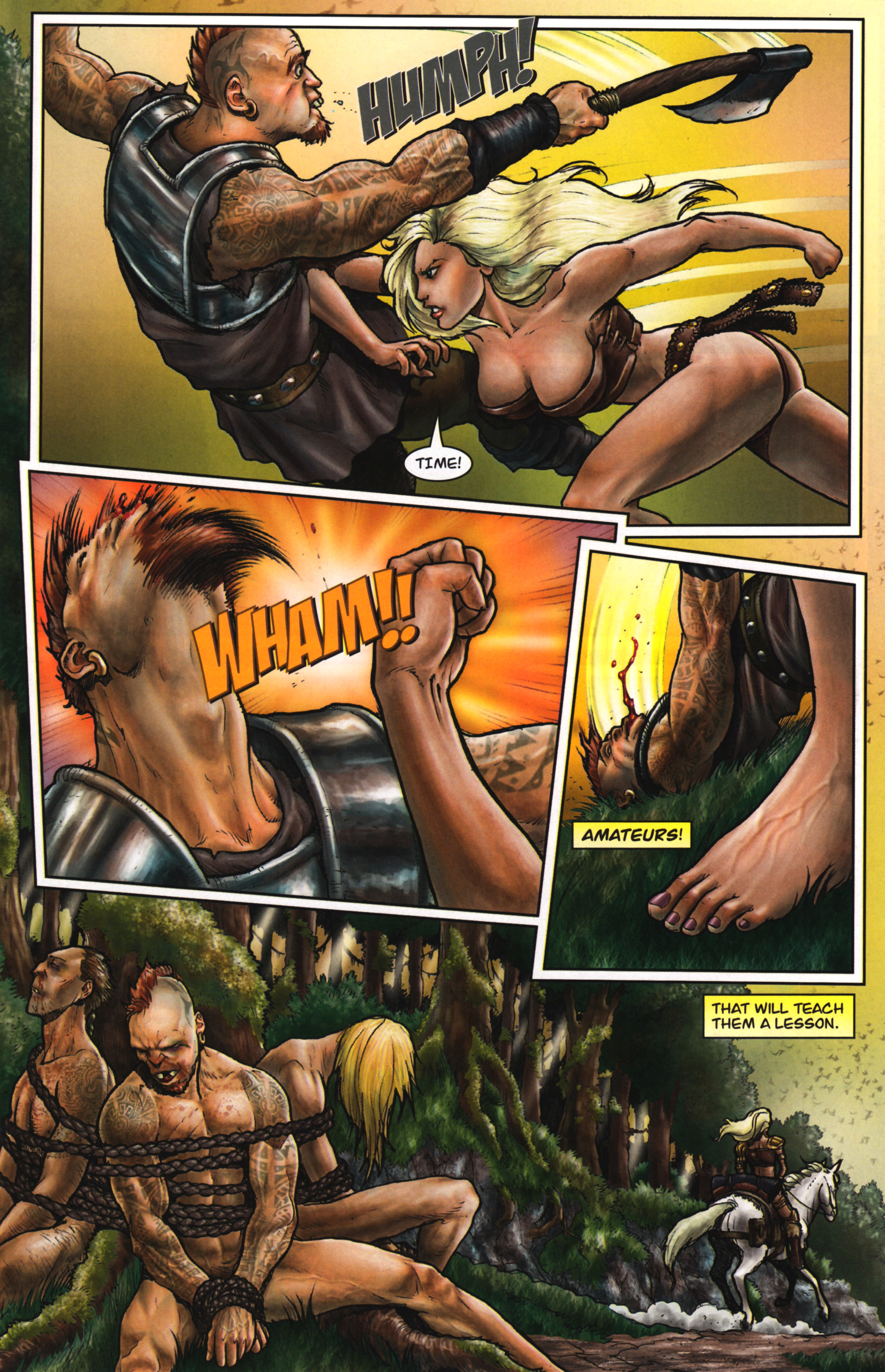 Read online Arhian: Head Huntress comic -  Issue #1 - 21
