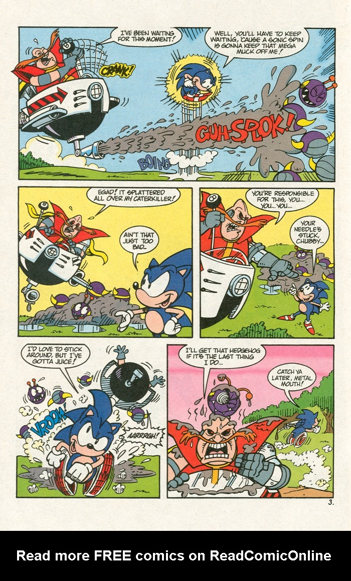 Read online Sonic Super Special comic -  Issue #3 - Sonic Firsts - 5