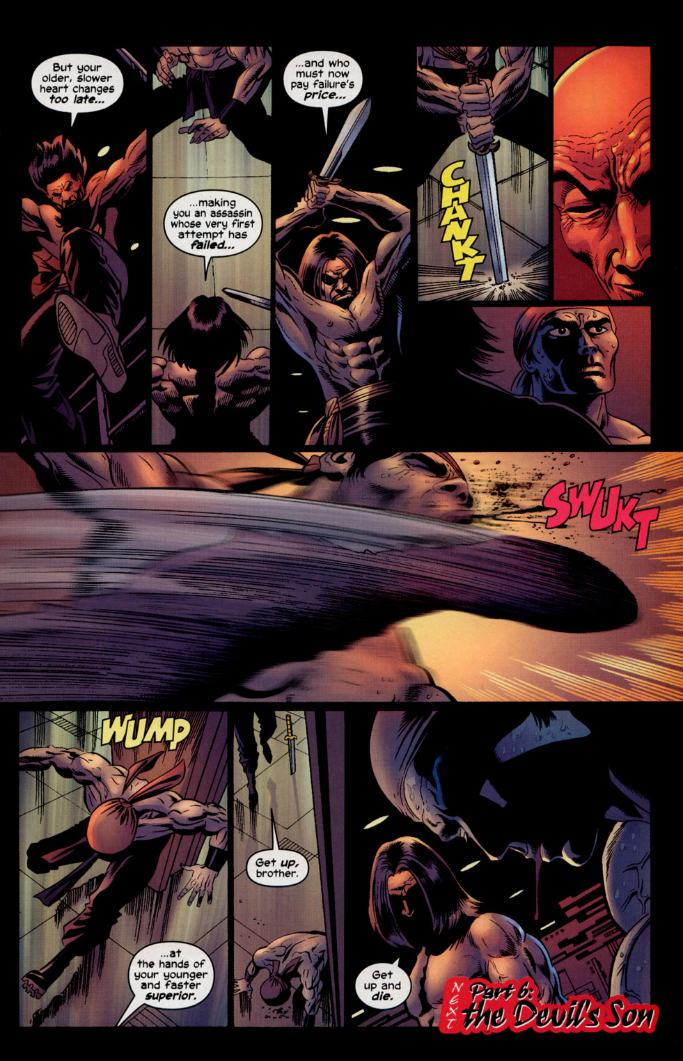 Read online Shang-Chi: Master of Kung Fu comic -  Issue #5 - 23