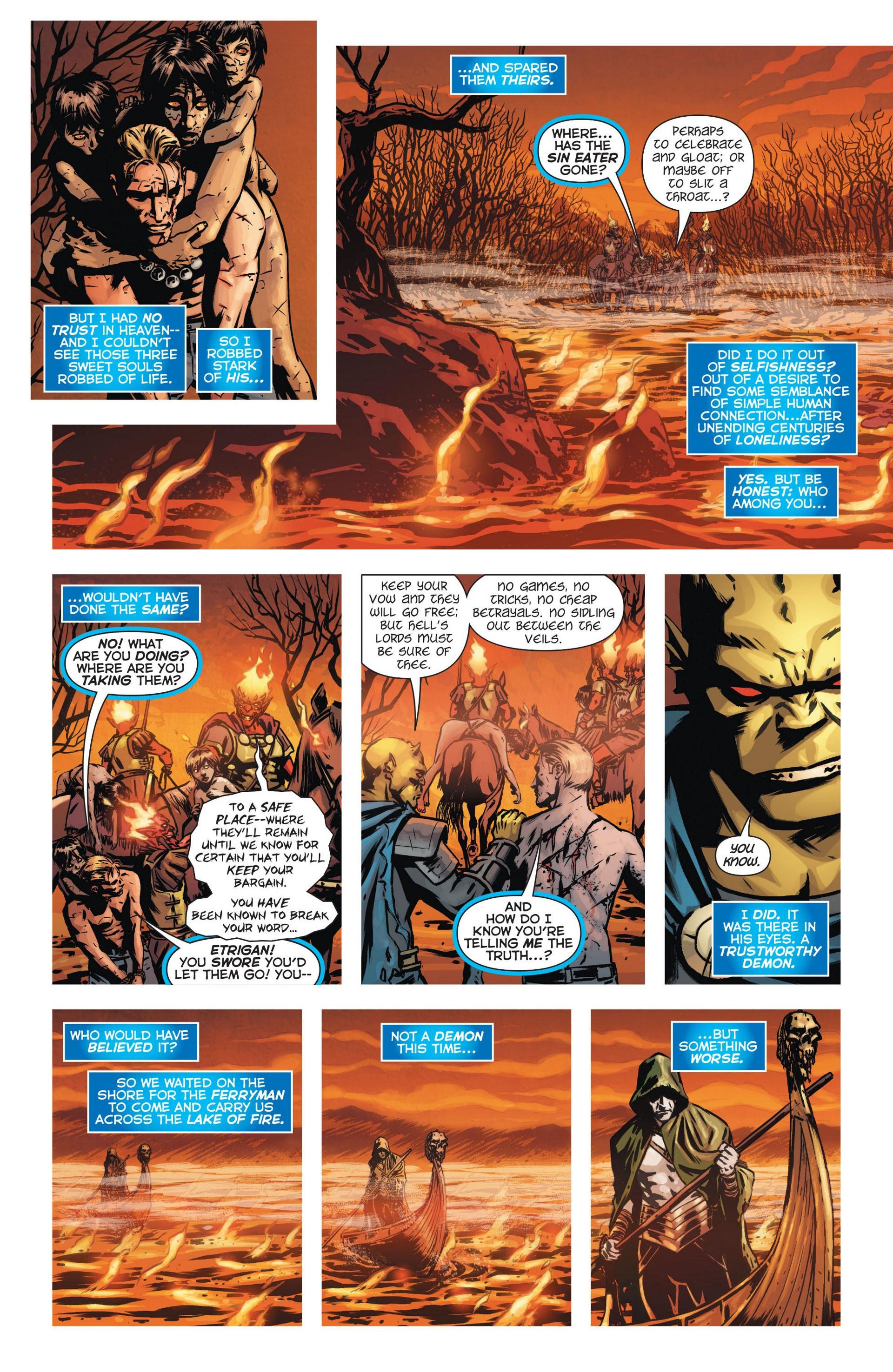 Read online Trinity of Sin: The Phantom Stranger comic -  Issue #9 - 17