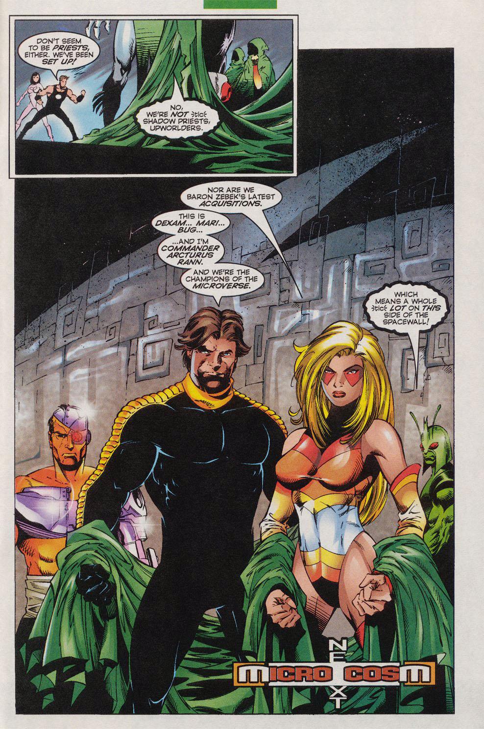 Read online Alpha Flight (1997) comic -  Issue #10 - 23