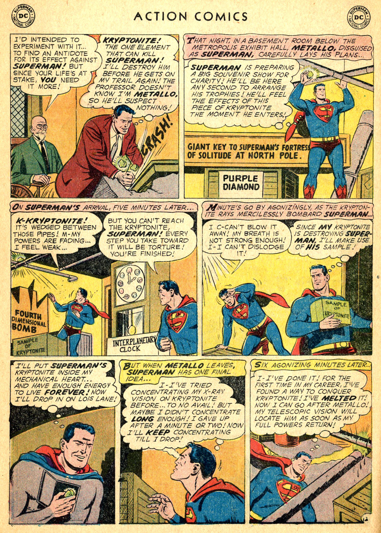 Read online Action Comics (1938) comic -  Issue #252 - 14