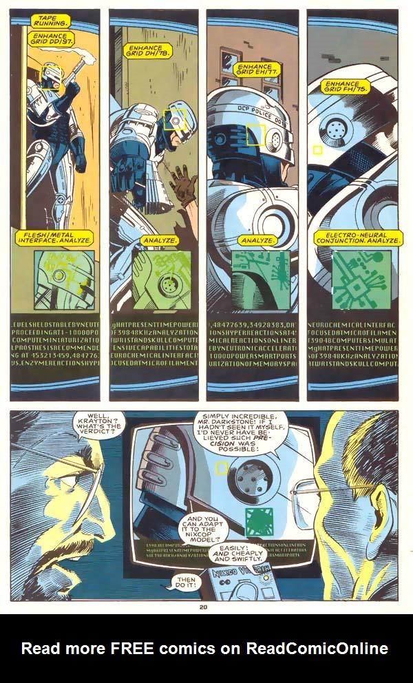 Read online Robocop (1990) comic -  Issue #1 - 15