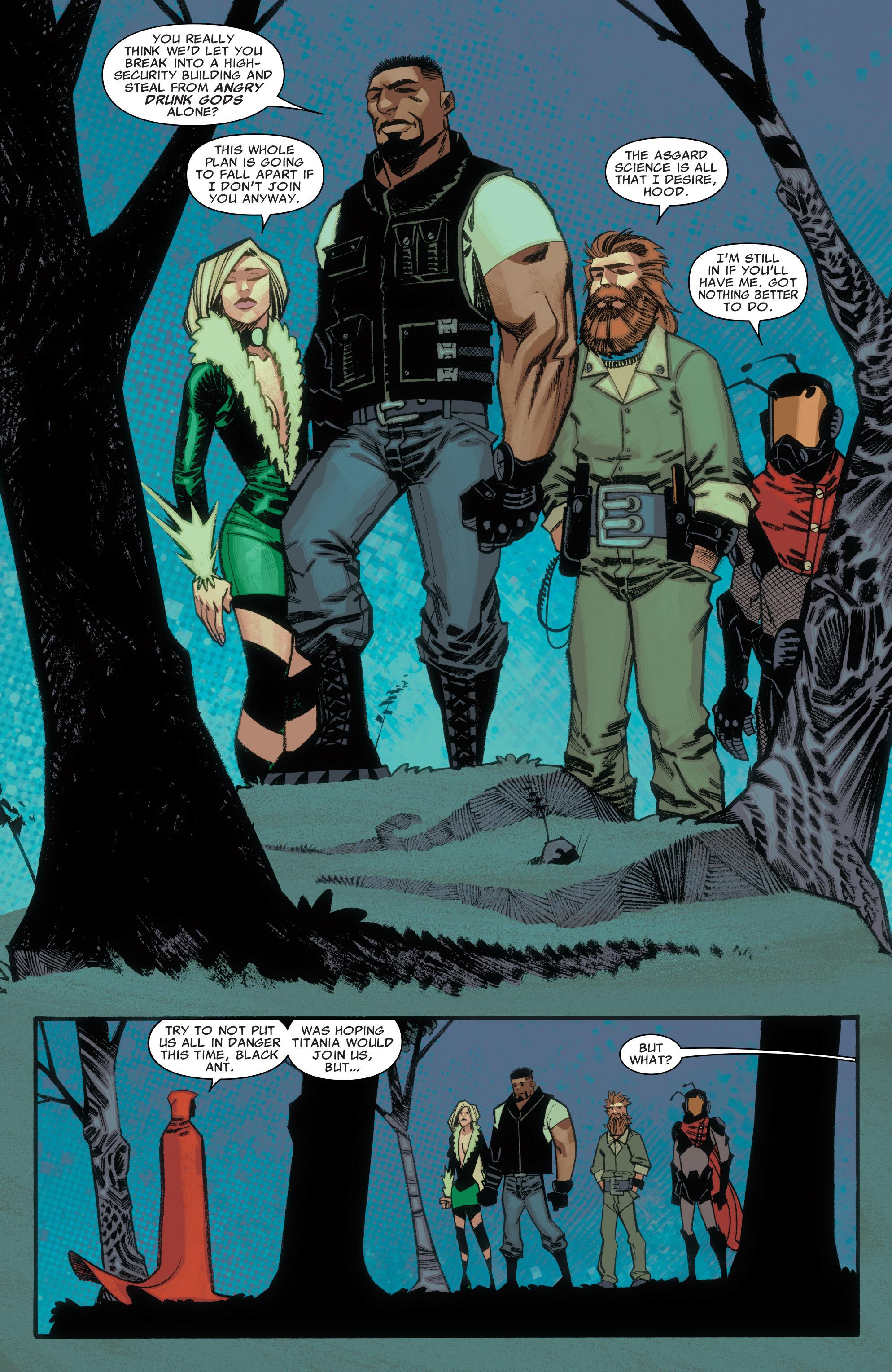 Read online Illuminati comic -  Issue #3 - 19