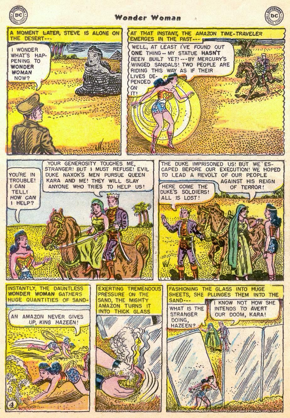 Read online Wonder Woman (1942) comic -  Issue #76 - 16