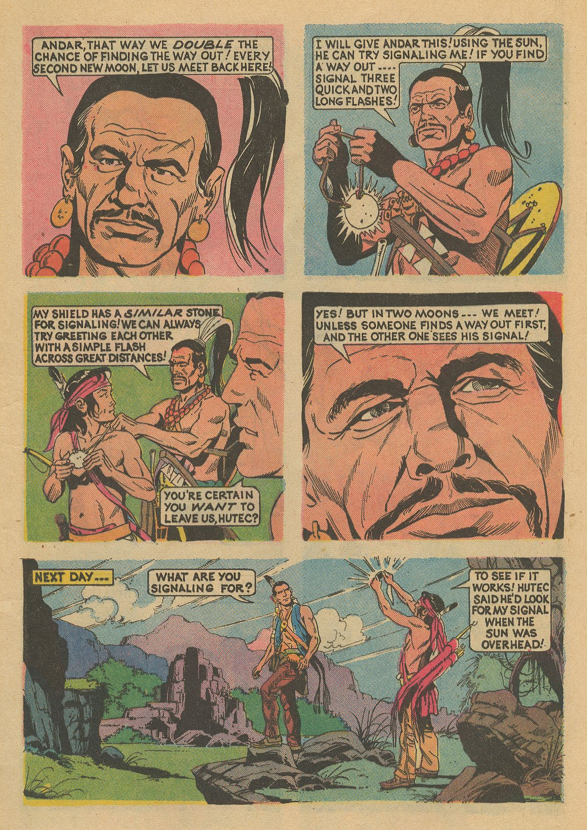 Read online Turok, Son of Stone comic -  Issue #86 - 9