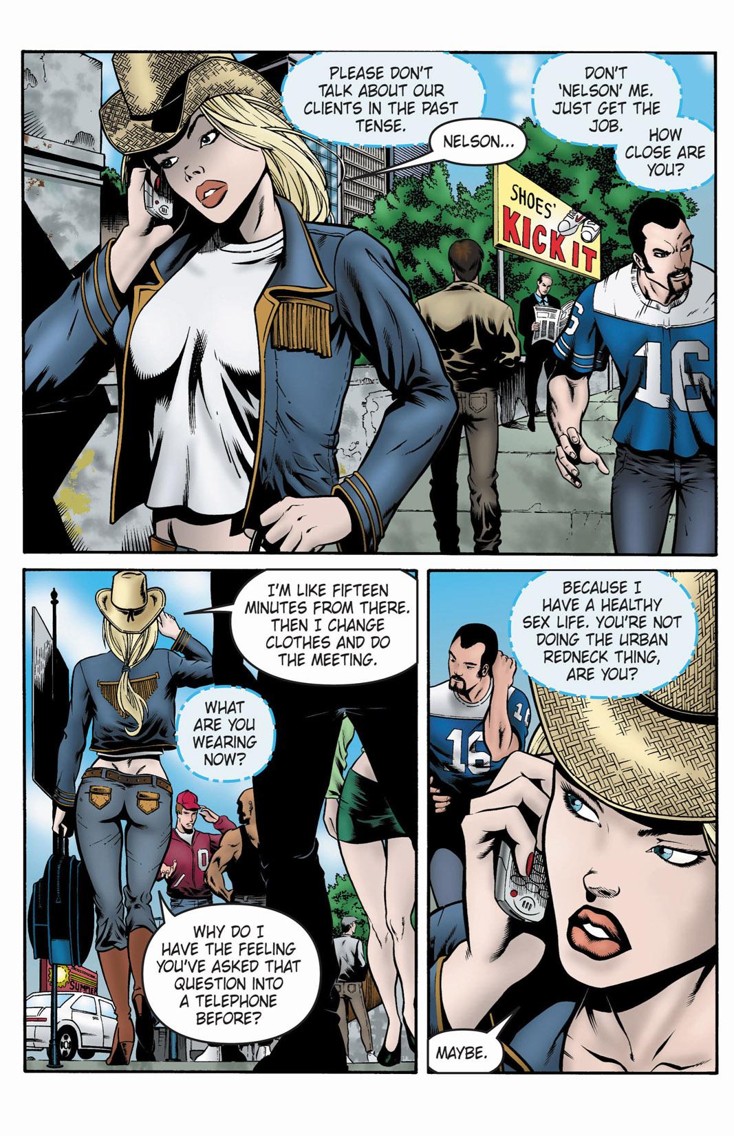 Read online SideChicks comic -  Issue #1 - 20