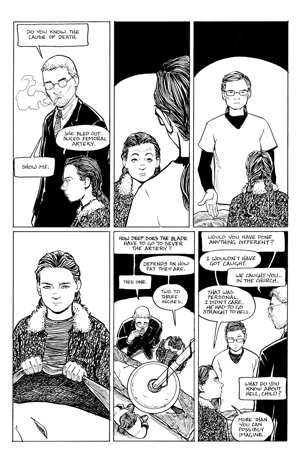 Read online Five Years comic -  Issue #5 - 11