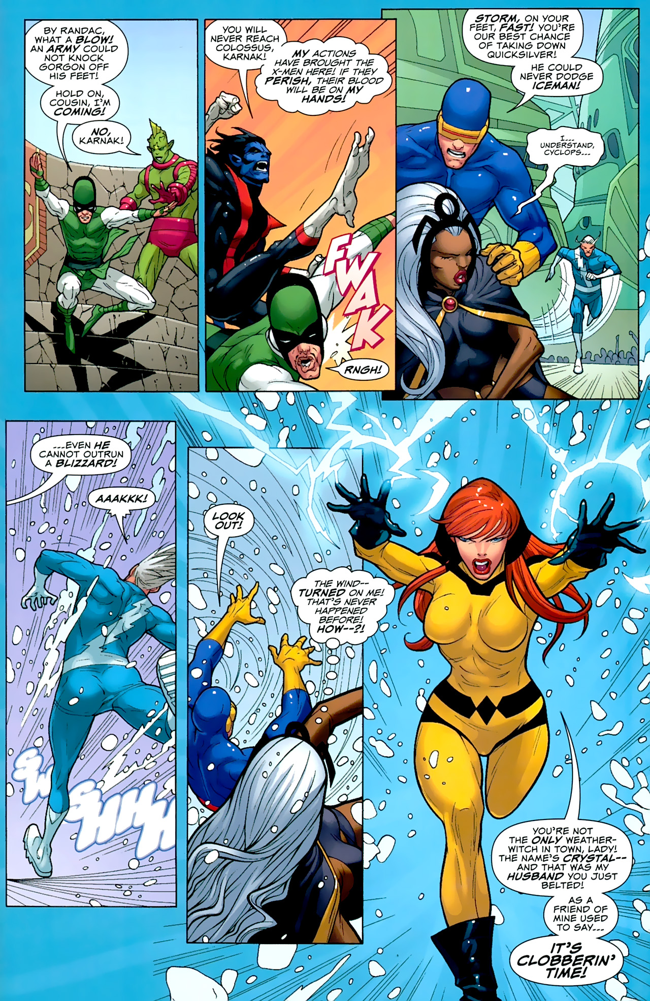 Read online Uncanny X-Men: First Class comic -  Issue #2 - 16
