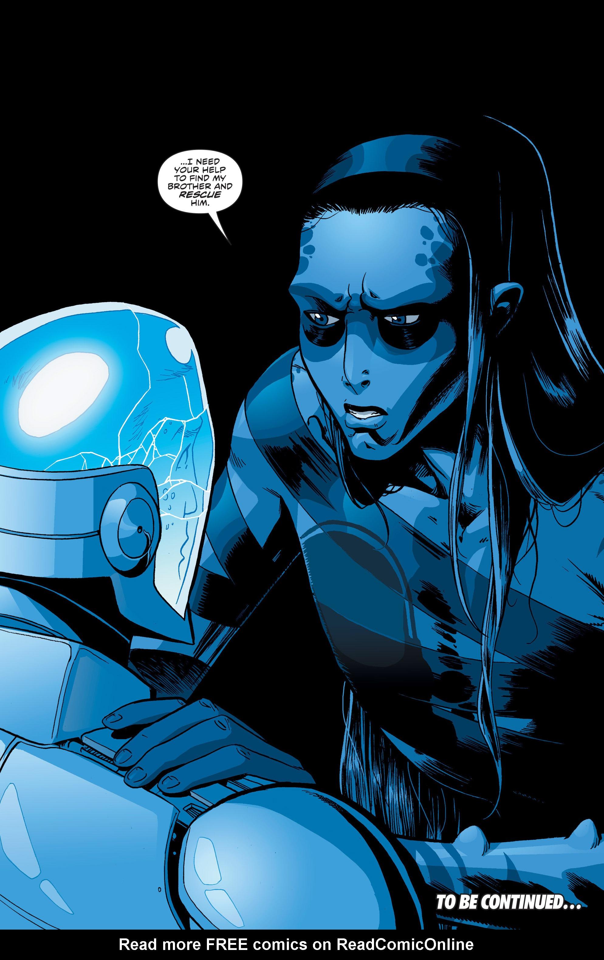 Read online Secret Identities comic -  Issue #4 - 21