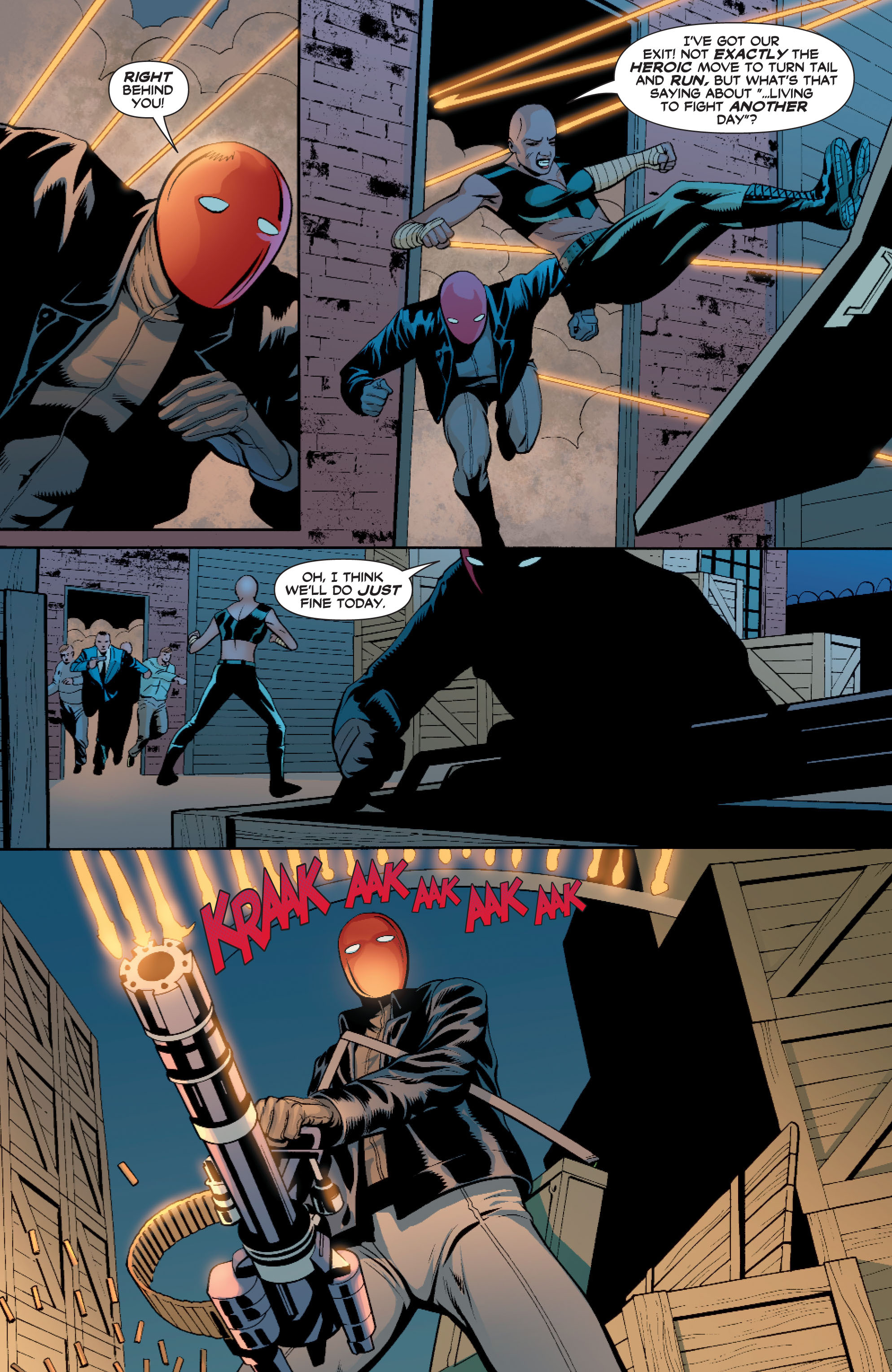 Read online Batman: Under The Red Hood comic -  Issue # Full - 147