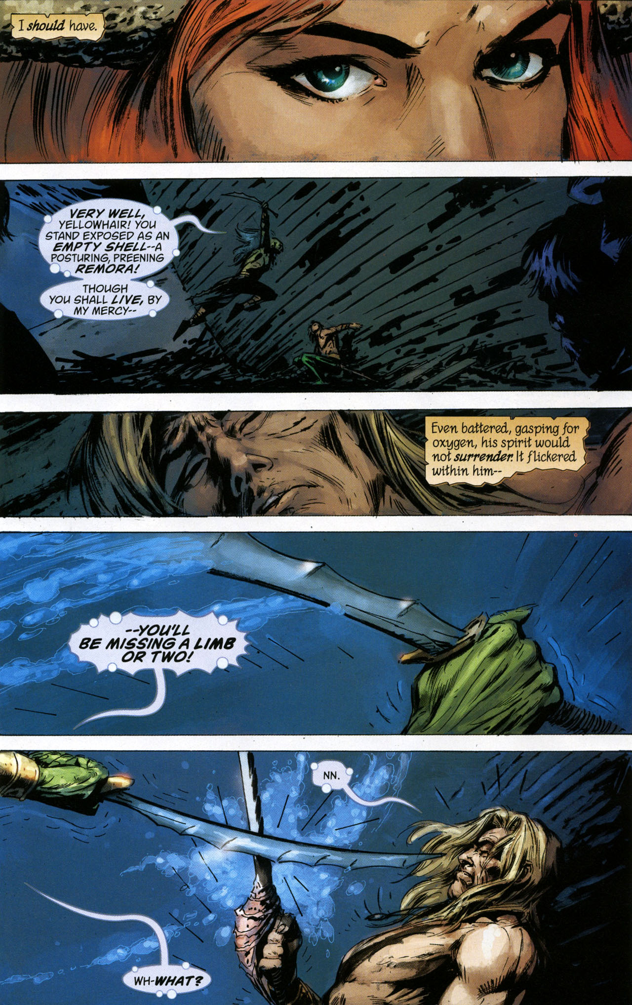 Read online Aquaman: Sword of Atlantis comic -  Issue #41 - 19