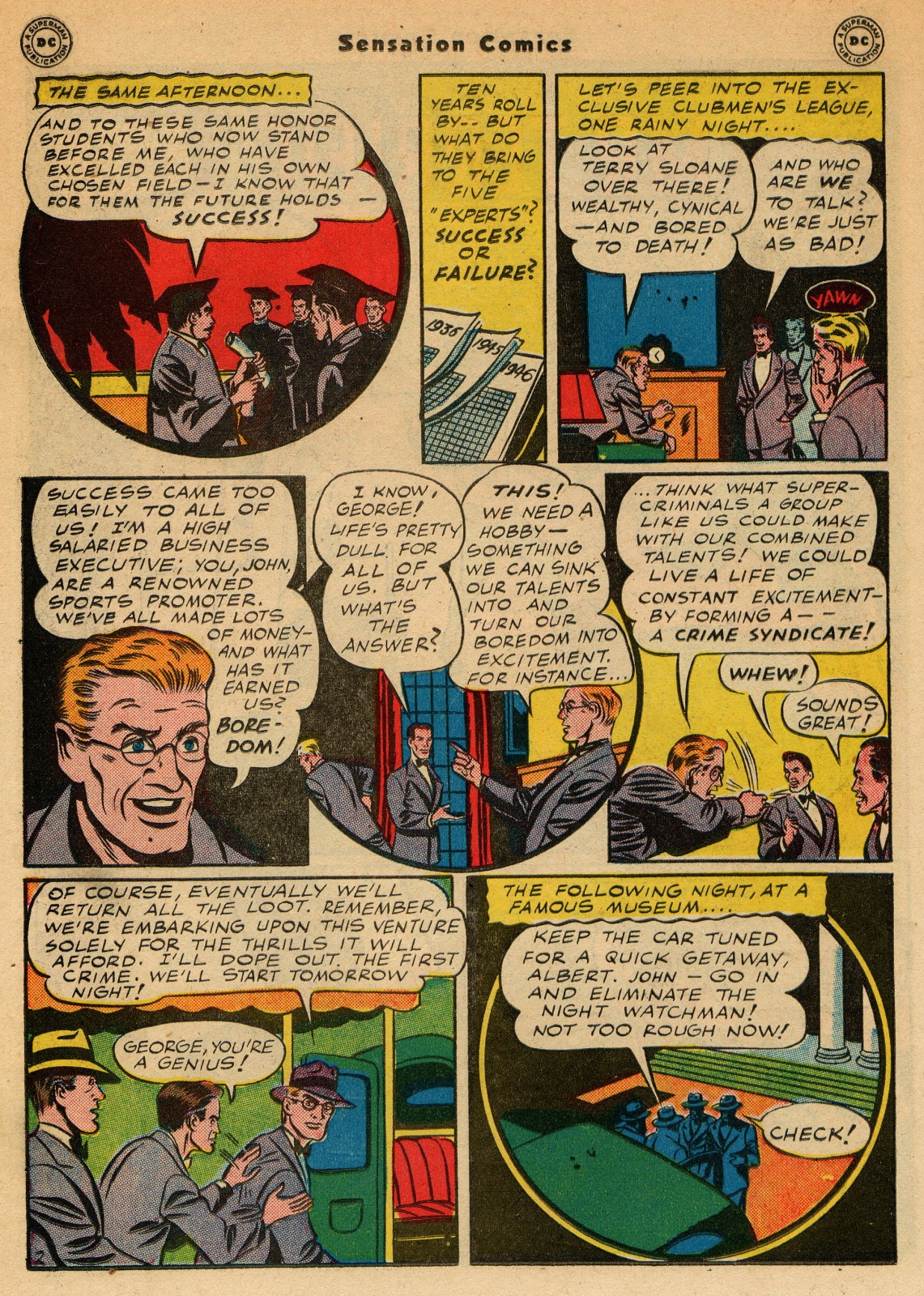 Read online Sensation (Mystery) Comics comic -  Issue #51 - 26