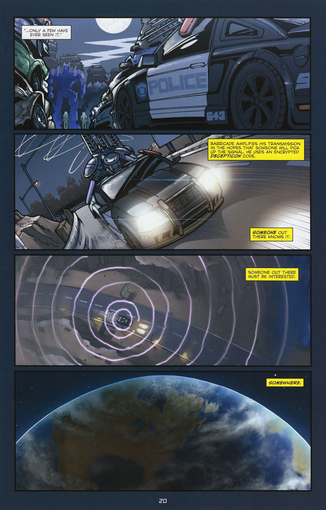 Read online Transformers: Alliance comic -  Issue #1 - 23
