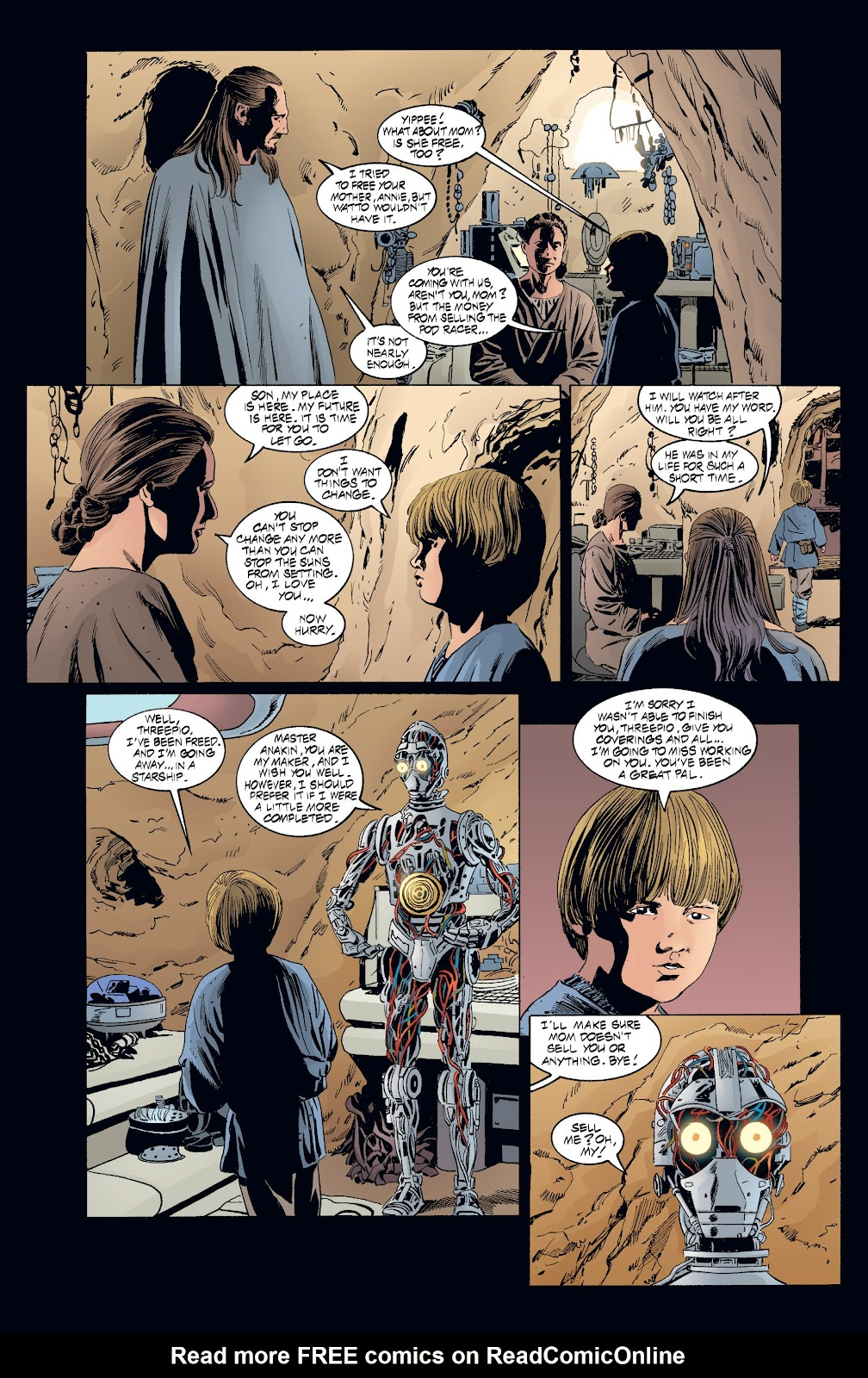 Read online Star Wars Legends: Rise of the Sith - Epic Collection comic -  Issue # TPB 2 (Part 3) - 92