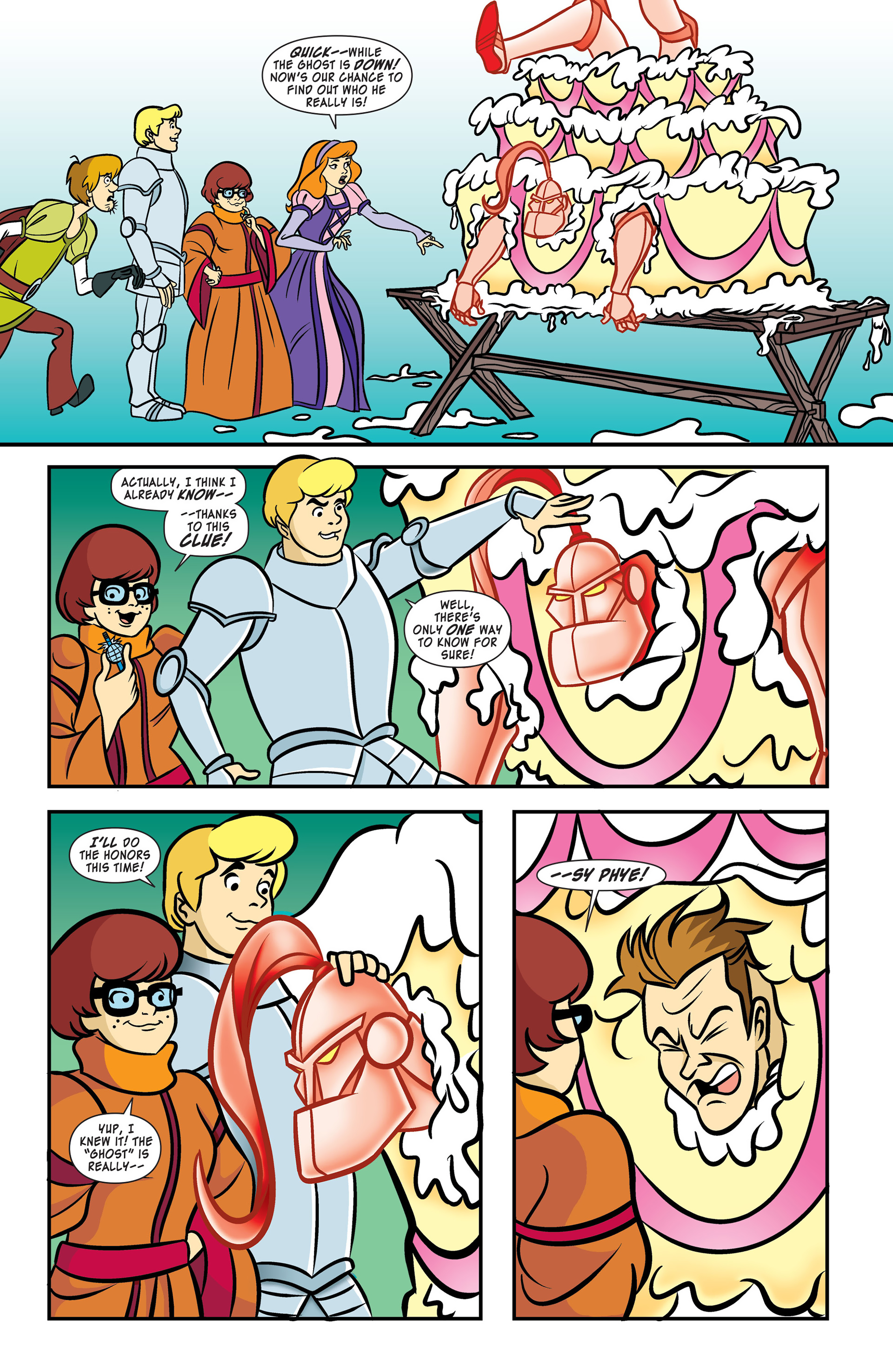 Read online Scooby-Doo: Where Are You? comic -  Issue #52 - 10