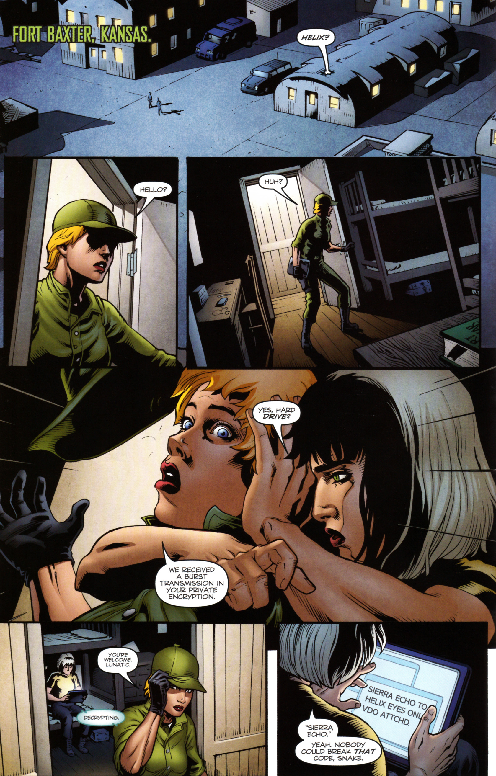 Read online Snake Eyes and Storm Shadow comic -  Issue #14 - 11