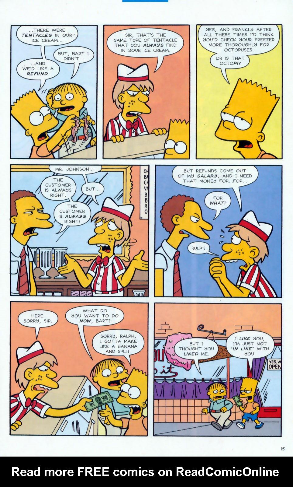 Read online Simpsons Comics comic -  Issue #78 - 16