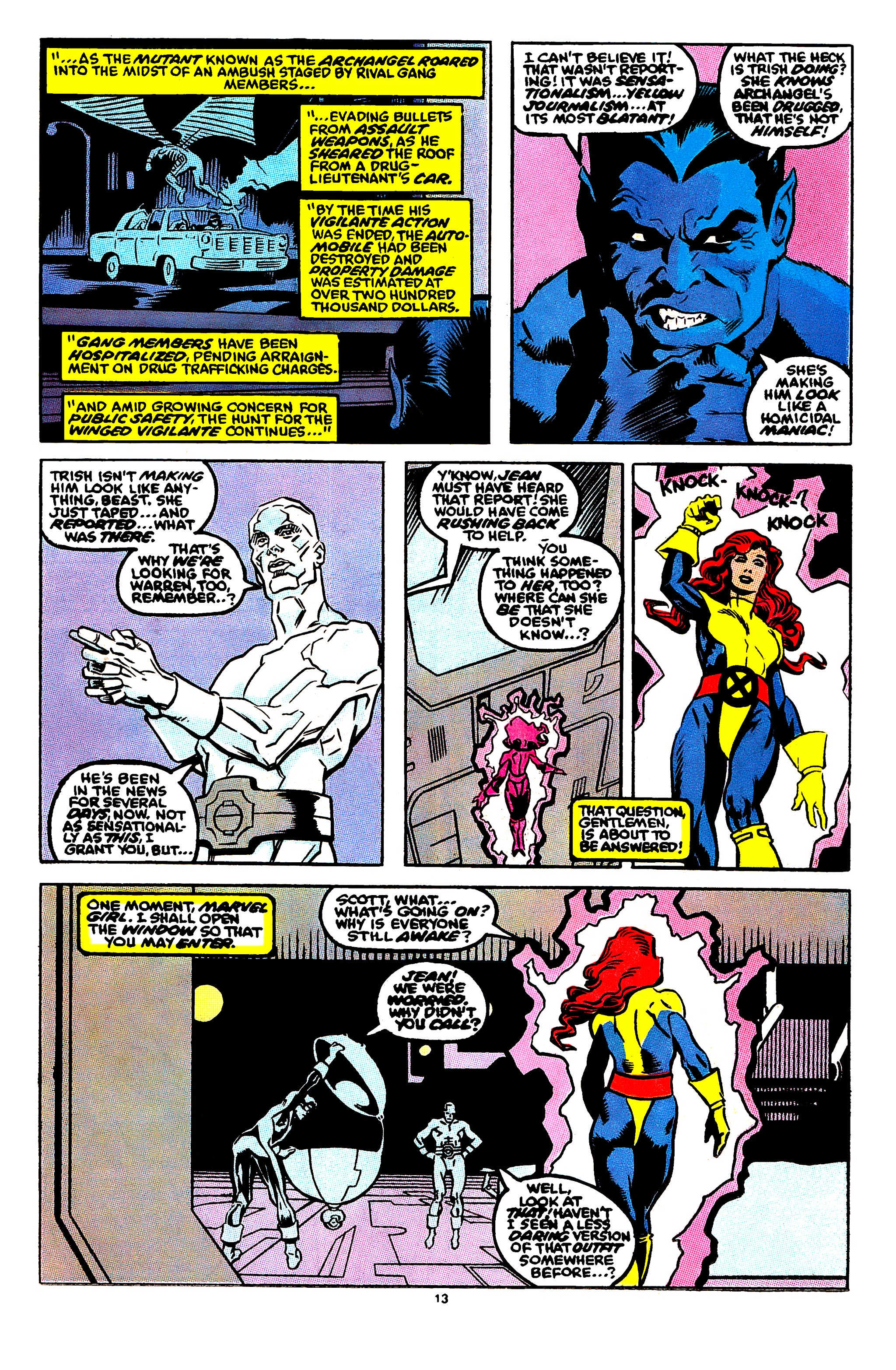 Read online X-Factor (1986) comic -  Issue #56 - 10