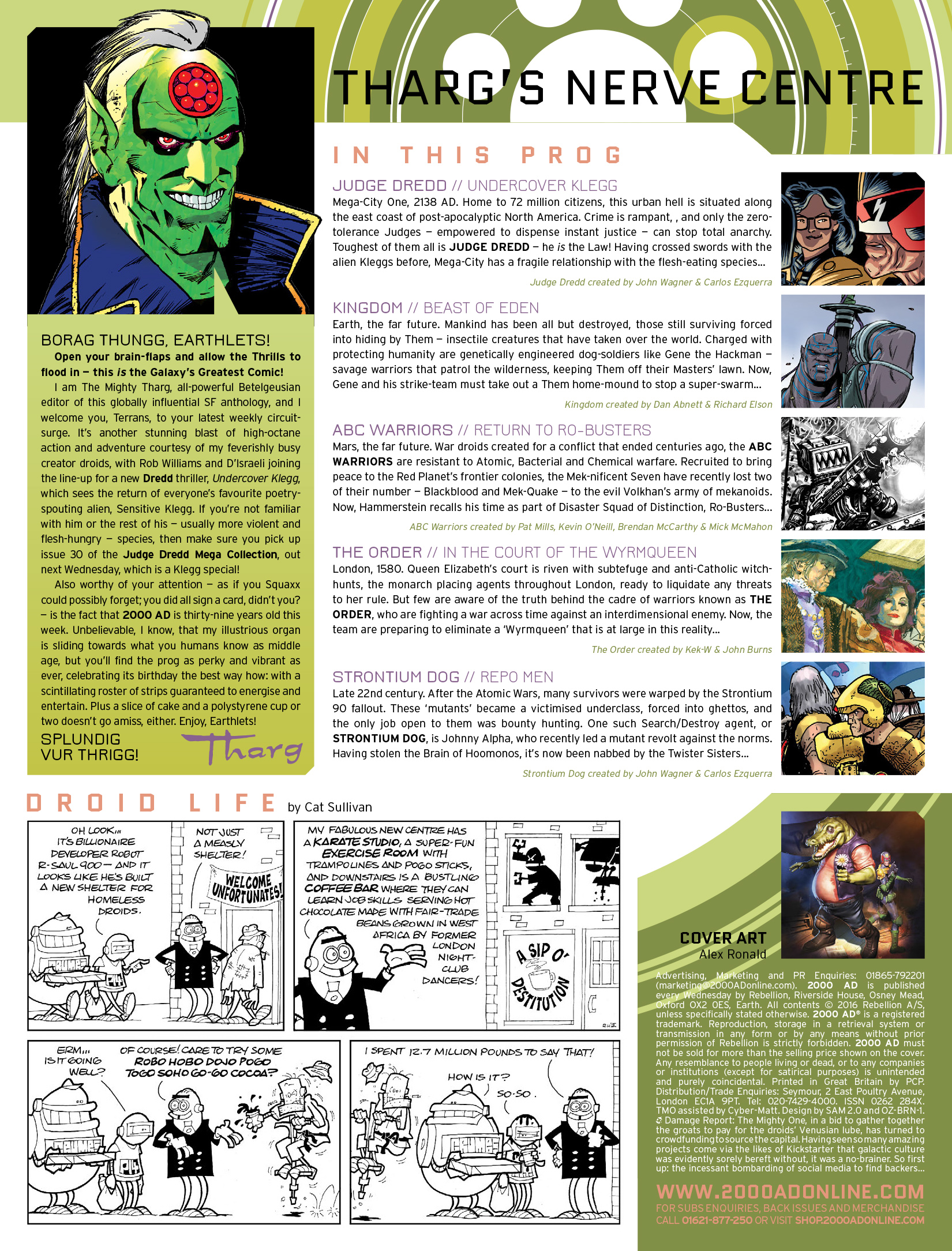 Read online 2000 AD comic -  Issue #1969 - 2