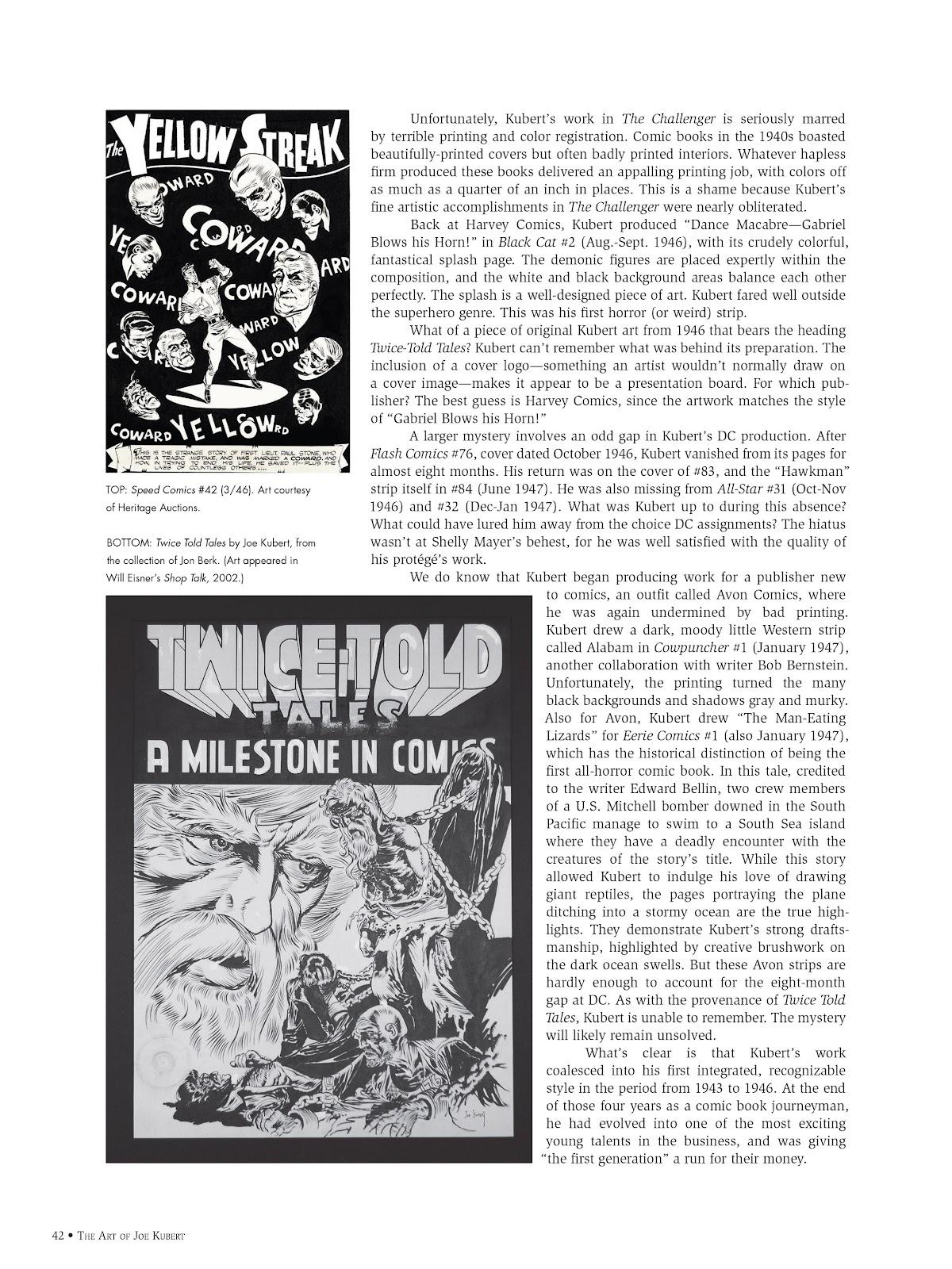 Read online The Art of Joe Kubert comic -  Issue # TPB (Part 1) - 41