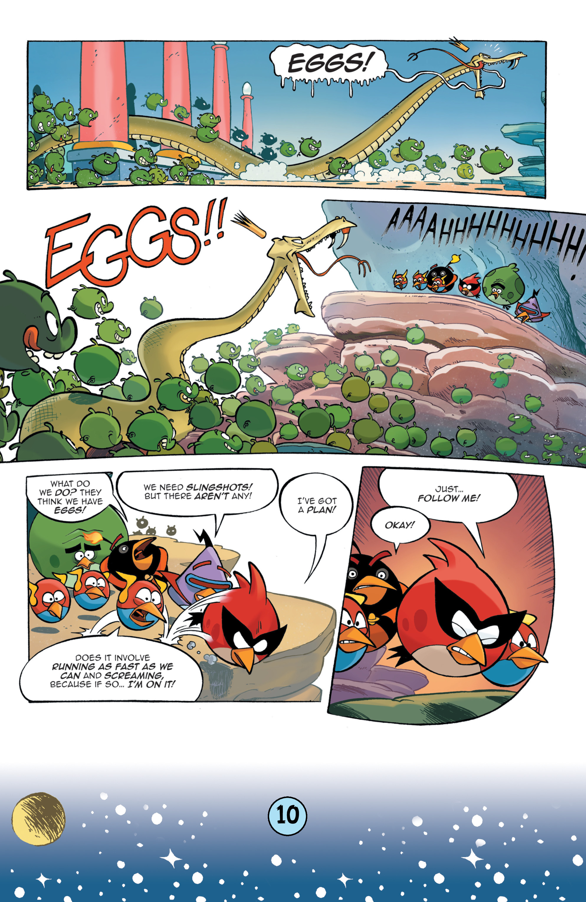 Read online Angry Birds Comics (2016) comic -  Issue #9 - 12
