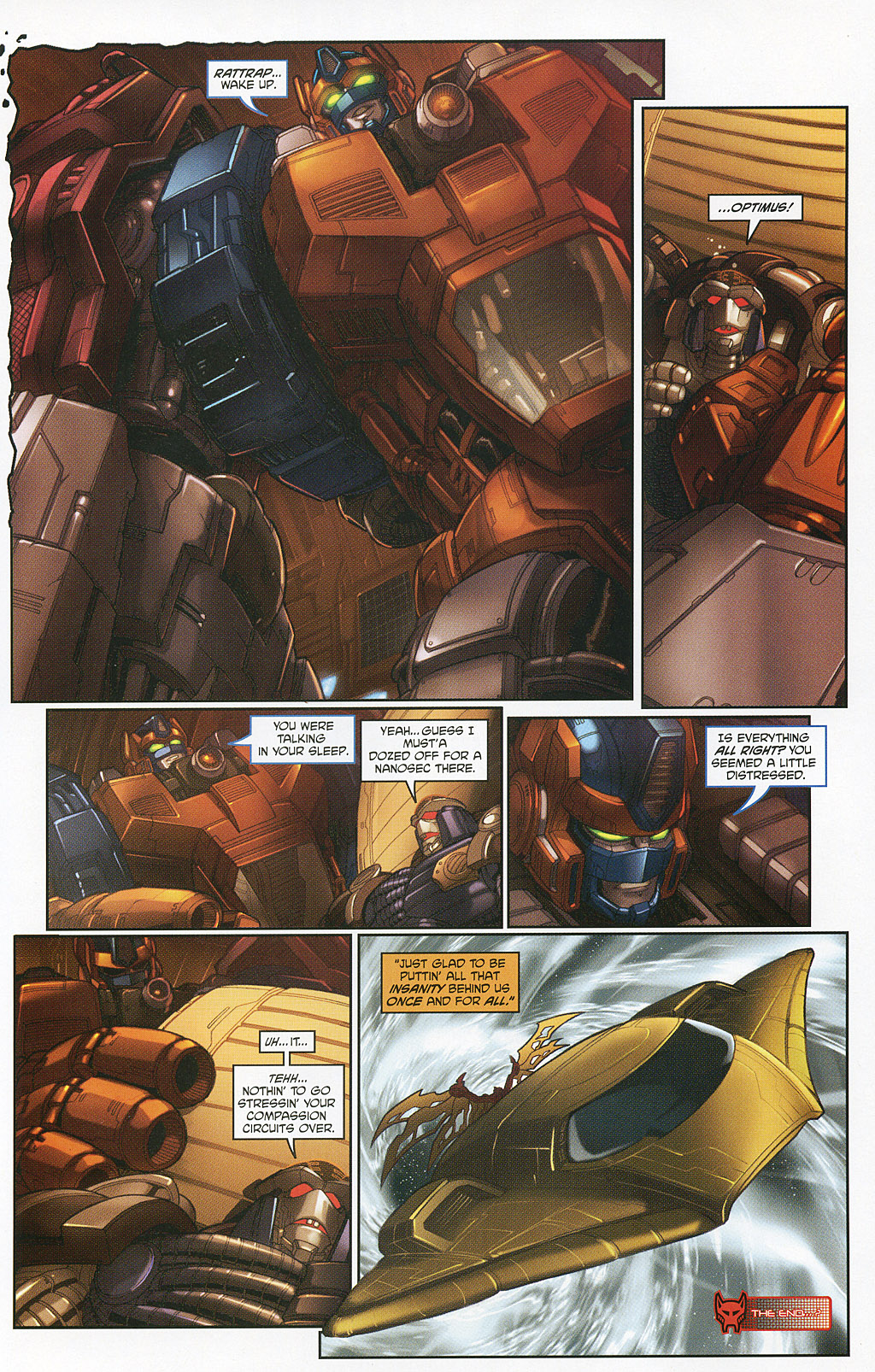 Read online Transformers 20th Anniversary Summer Special comic -  Issue # Full - 41