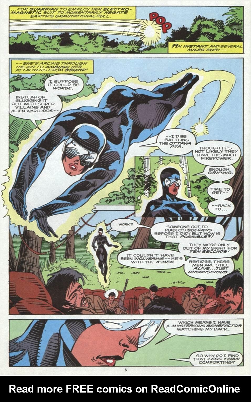 Read online Alpha Flight (1983) comic -  Issue #102 - 6