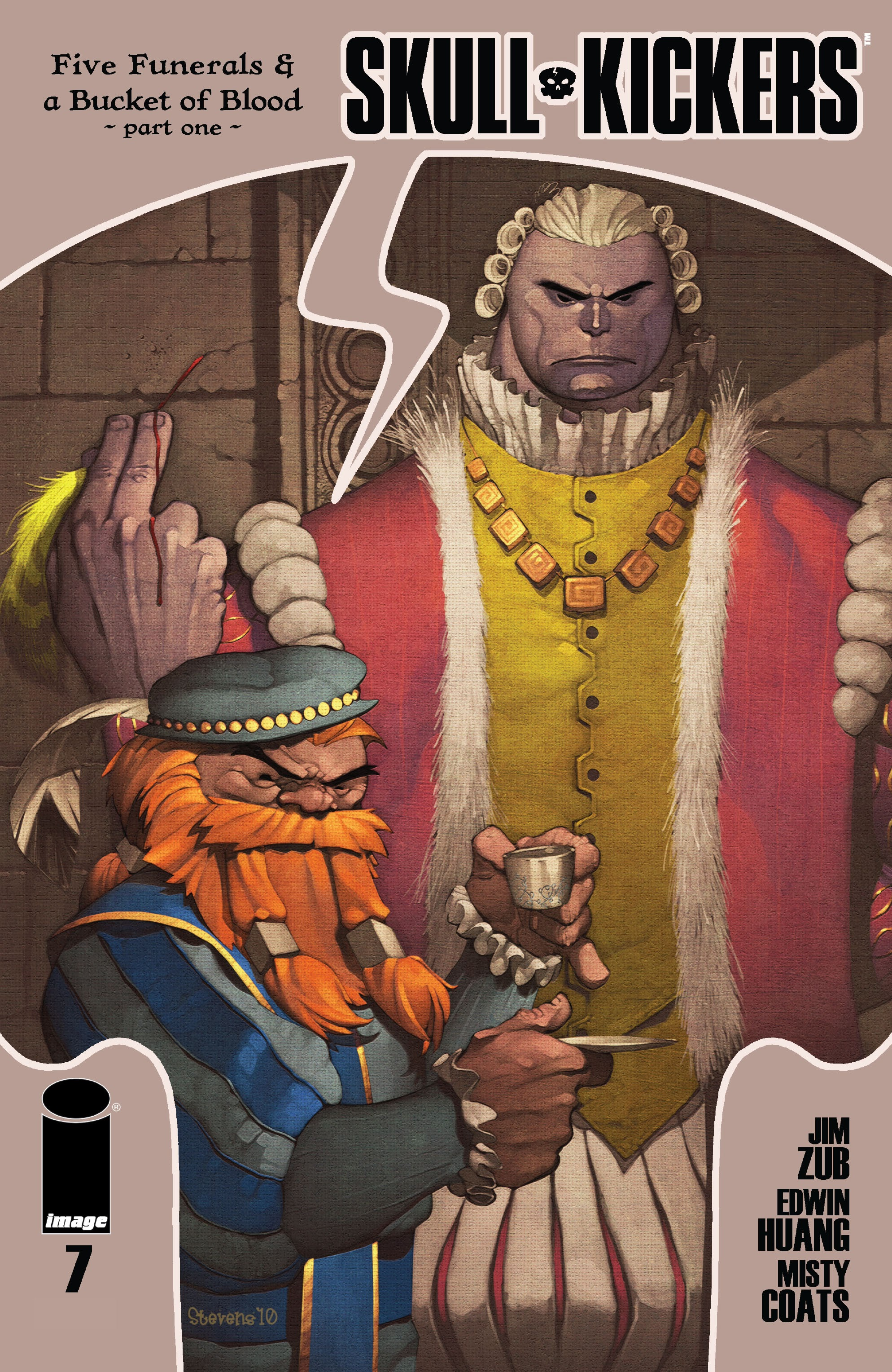 Read online Skullkickers comic -  Issue #7 - 1