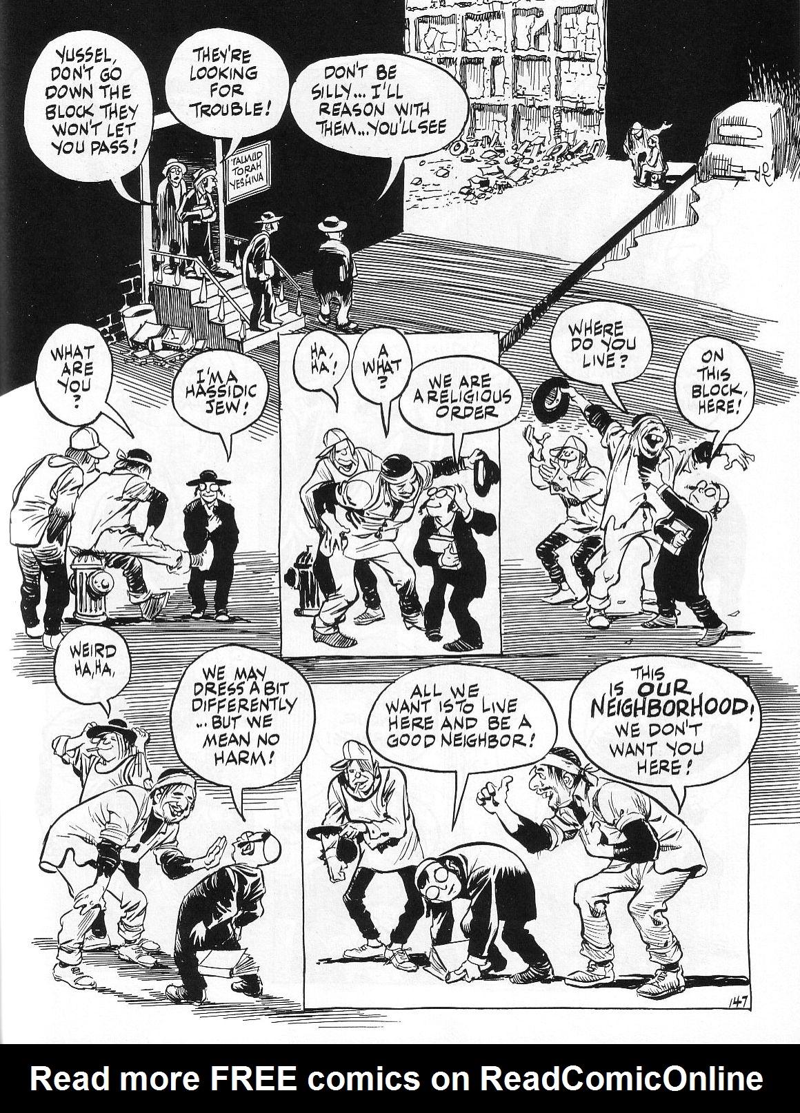 Read online Dropsie Avenue, The Neighborhood comic -  Issue # Full - 149