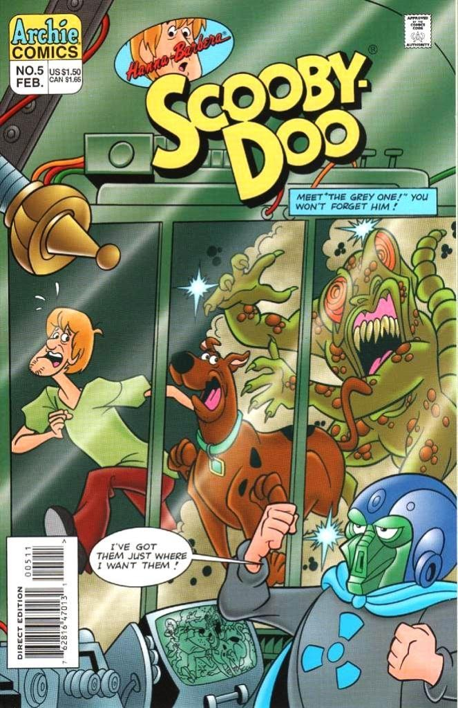 Read online Scooby-Doo (1995) comic -  Issue #5 - 1