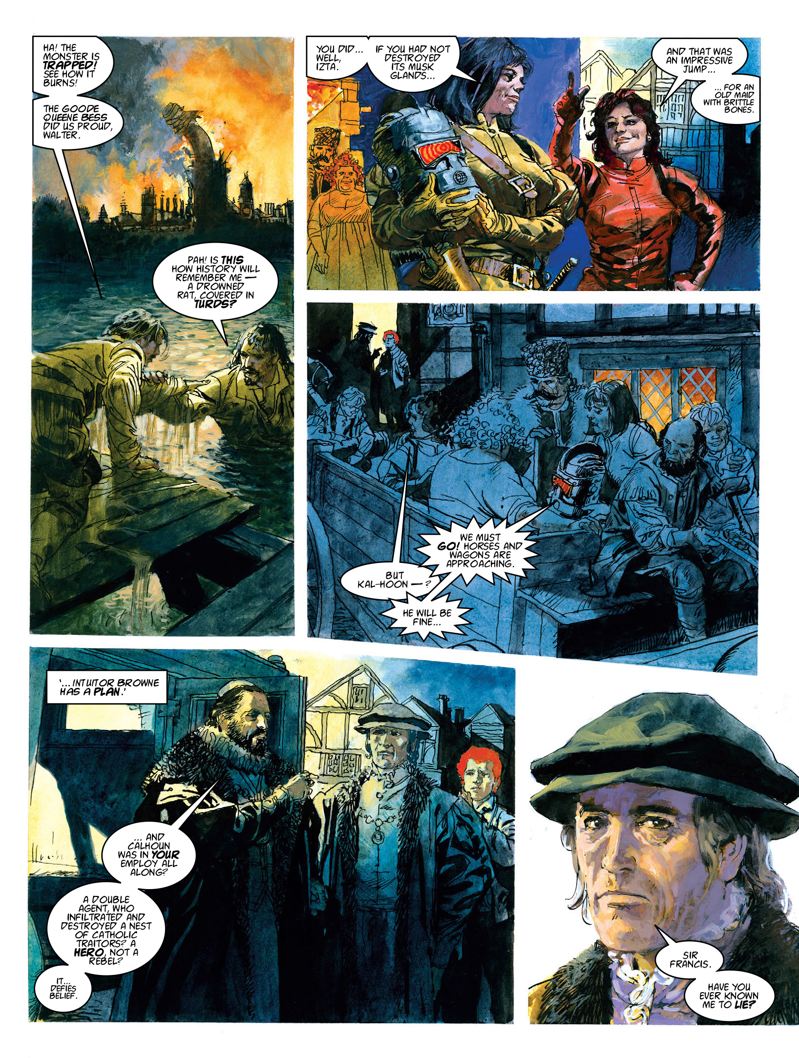 Read online 2000 AD comic -  Issue #1972 - 14
