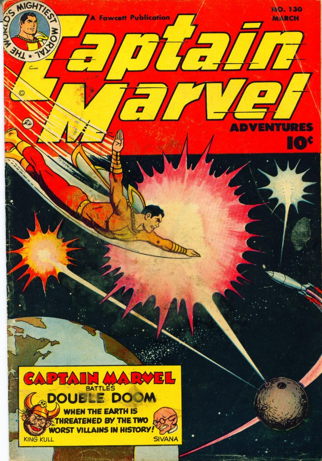 Captain Marvel Adventures issue 130 - Page 1