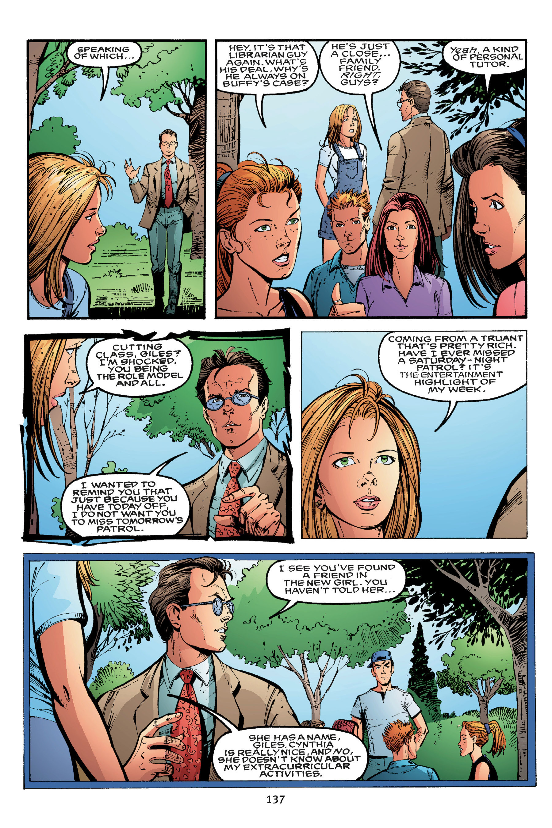 Read online Buffy the Vampire Slayer: Omnibus comic -  Issue # TPB 3 - 132