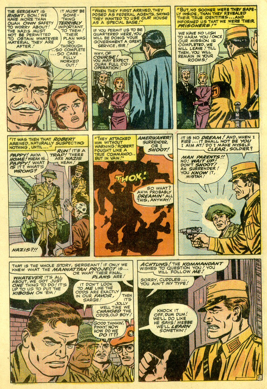 Read online Sgt. Fury comic -  Issue #82 - 17
