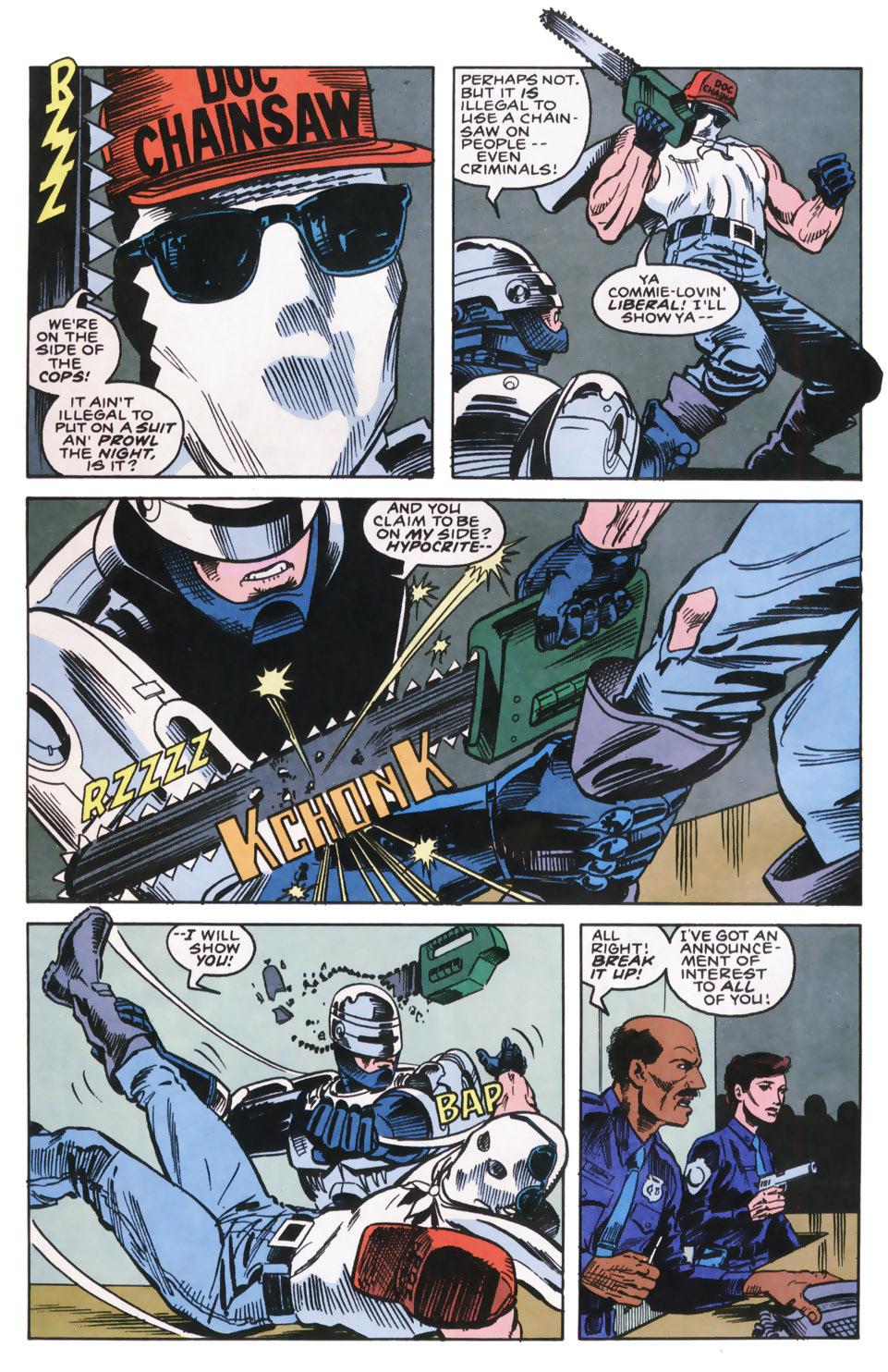 Read online Robocop (1990) comic -  Issue #9 - 10