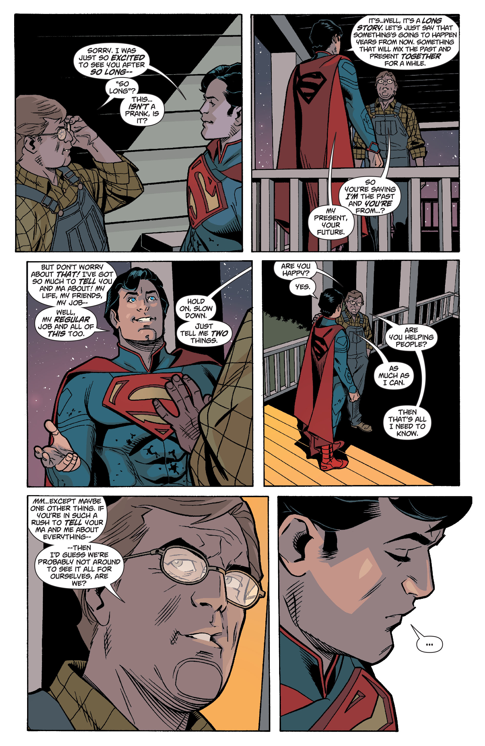 Read online Action Comics (2011) comic -  Issue #17 - 29
