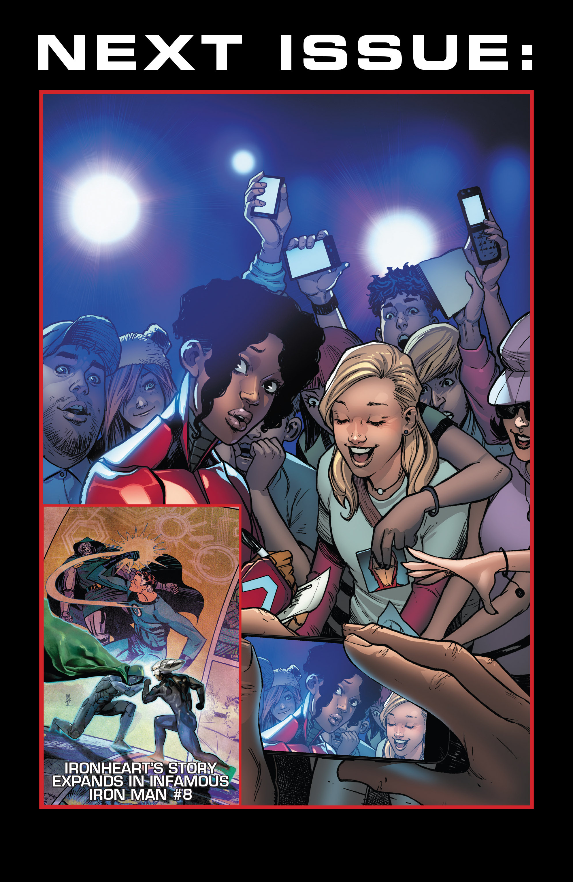 Read online Invincible Iron Man (2016) comic -  Issue #7 - 23