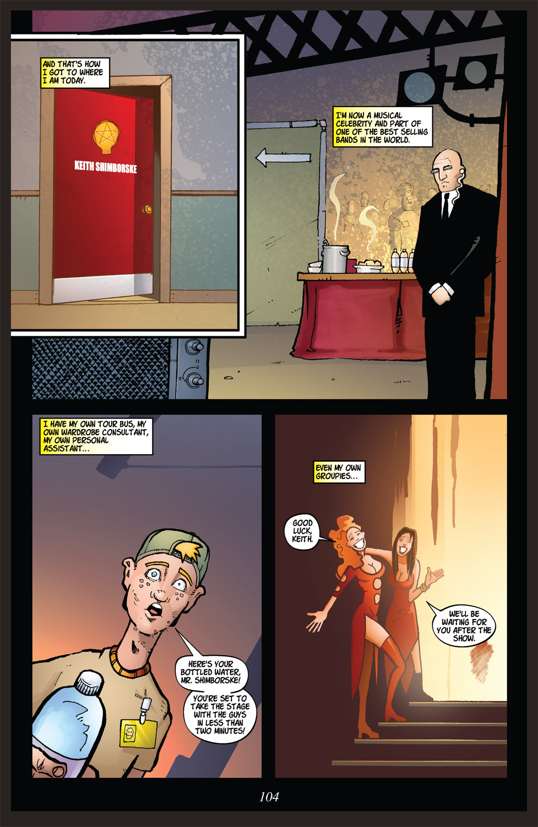 Read online Nightmare World comic -  Issue # Vol. 2 Leave the Light On - 105