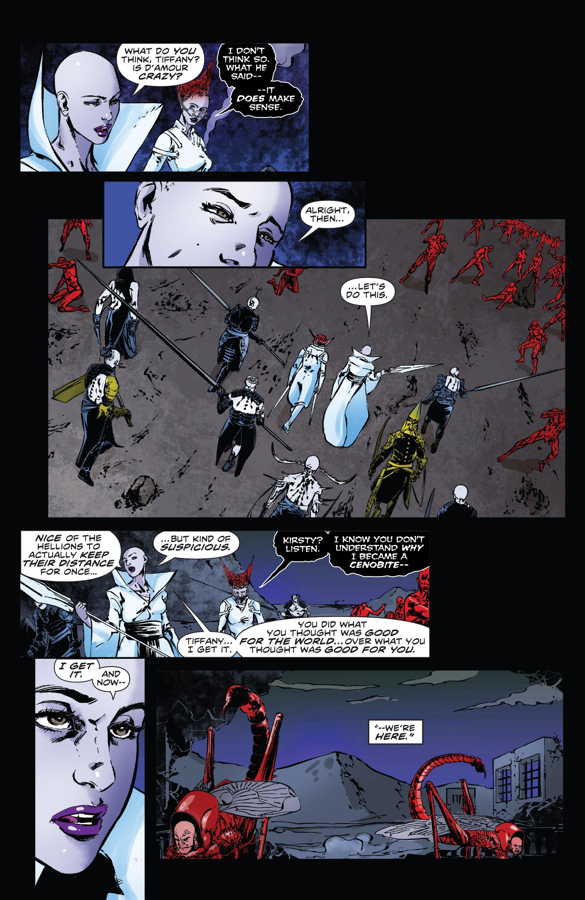 Read online Clive Barker's Hellraiser: The Dark Watch comic -  Issue # TPB 3 - 112