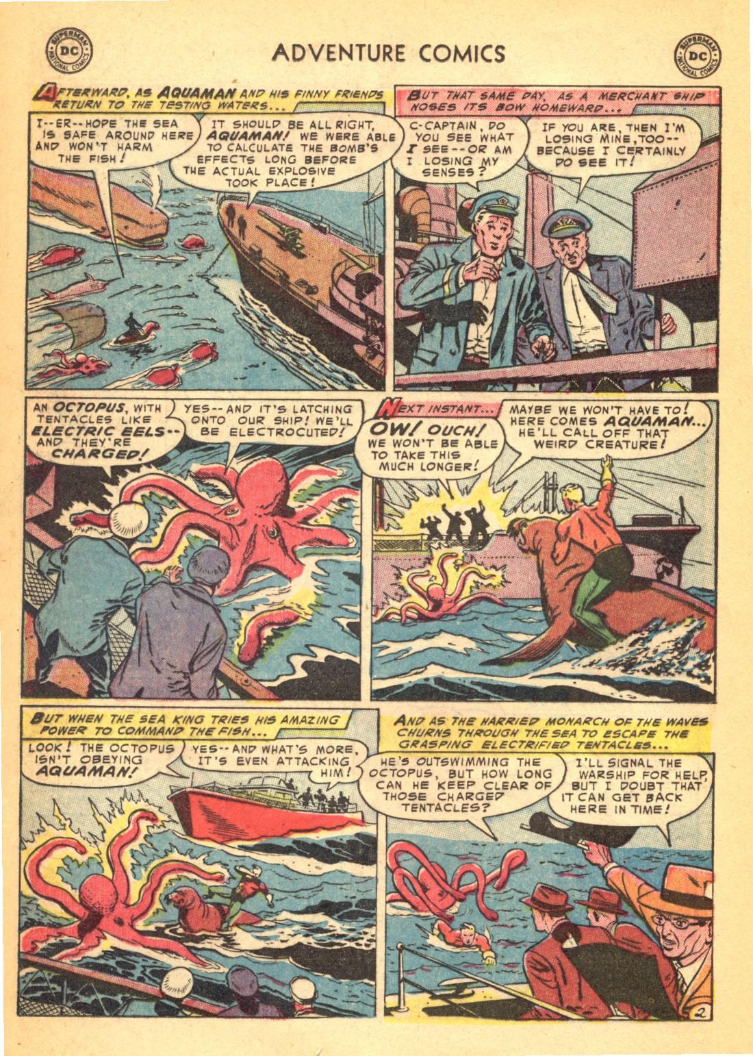 Read online Adventure Comics (1938) comic -  Issue #202 - 26