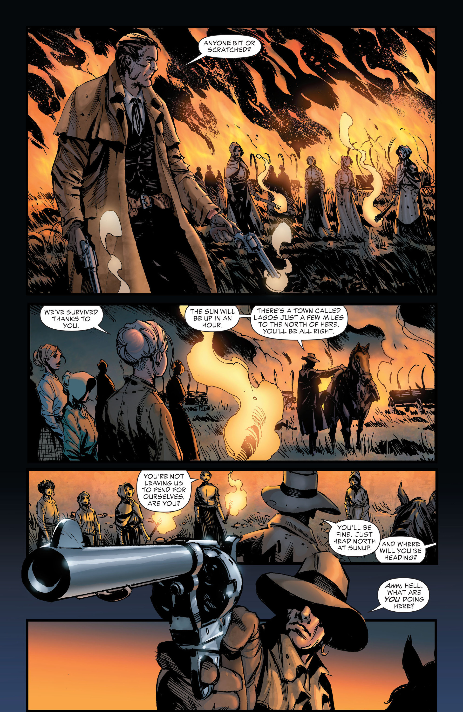 Read online All-Star Western (2011) comic -  Issue #19 - 31