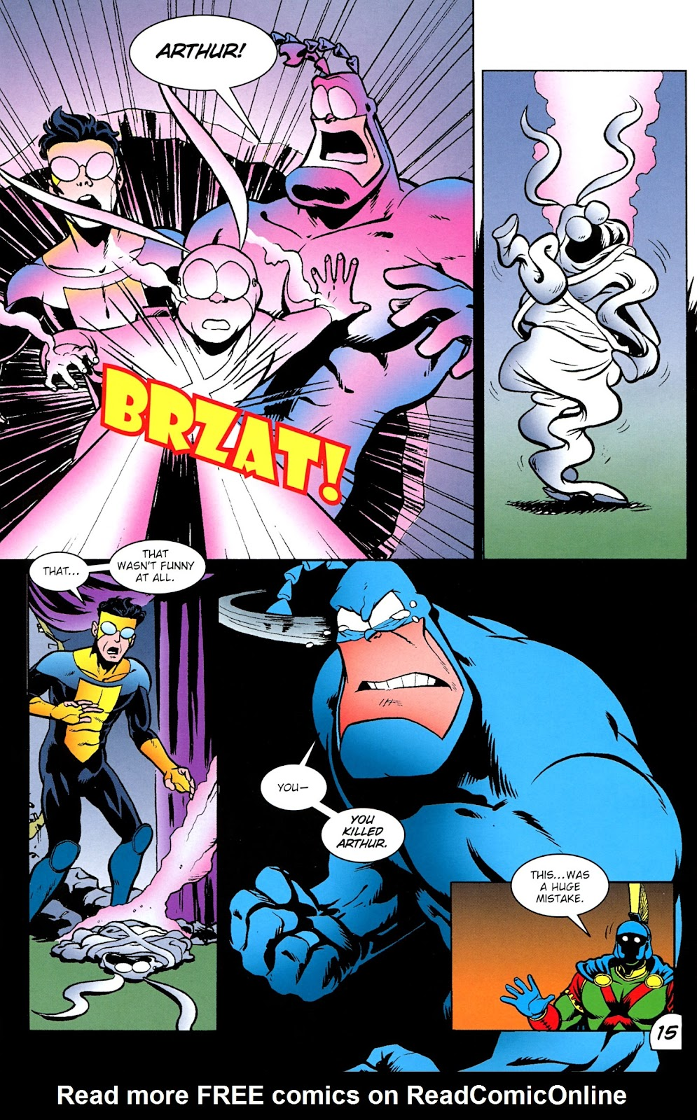 Read online The Tick comic -  Issue #100 - 16