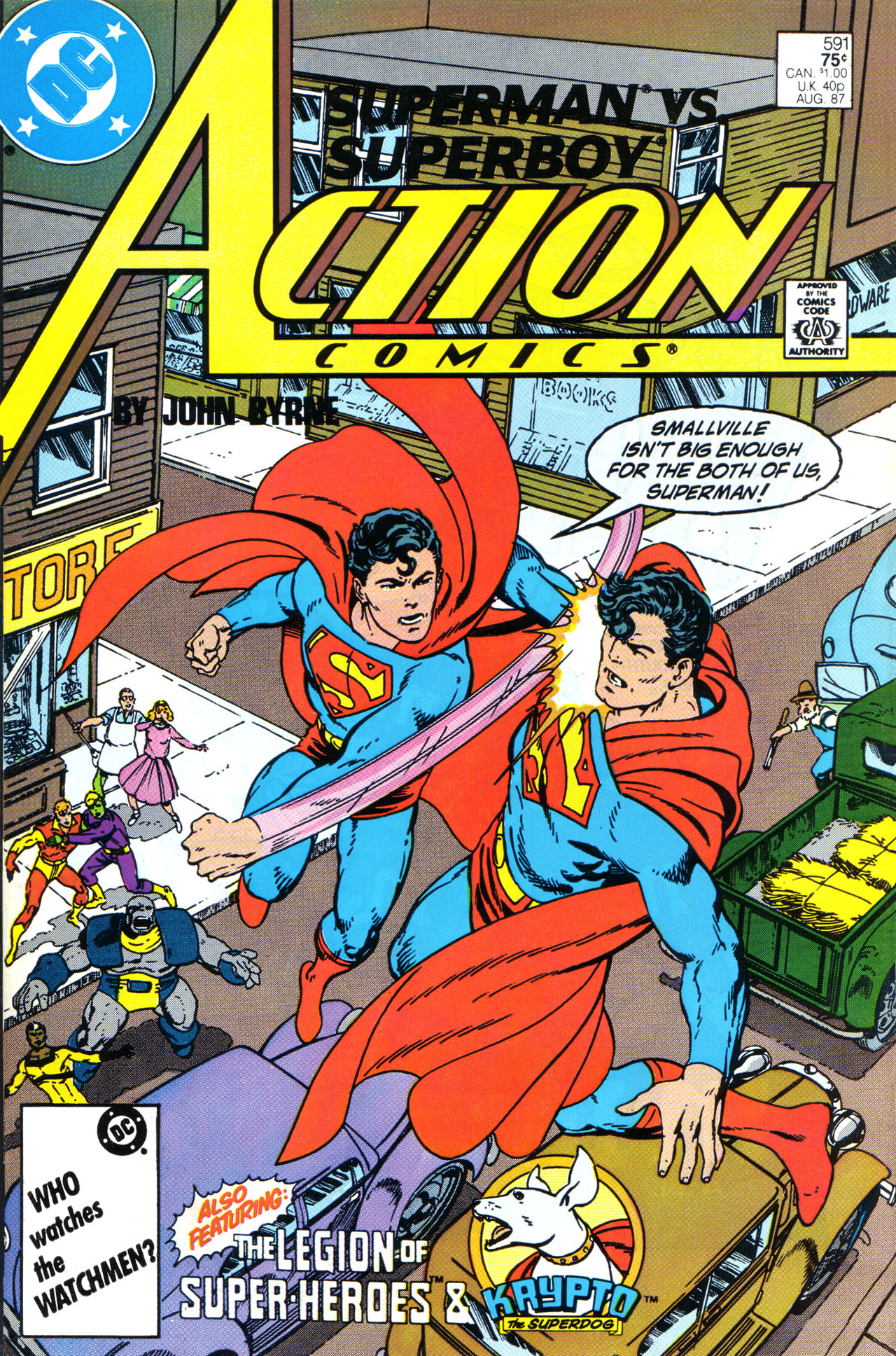 Read online Action Comics (1938) comic -  Issue #591 - 1