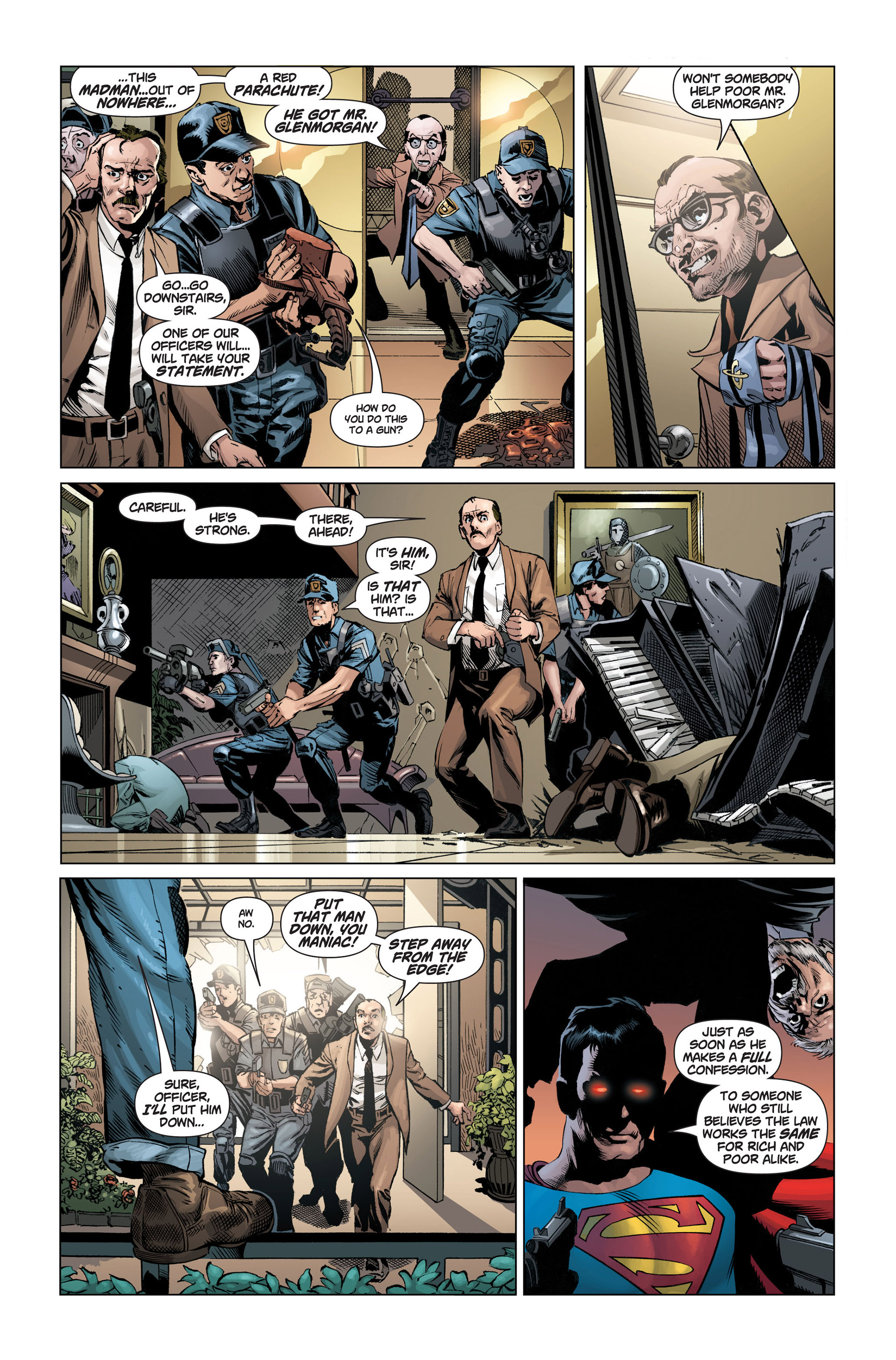 Read online Action Comics (2011) comic -  Issue #1 - 10