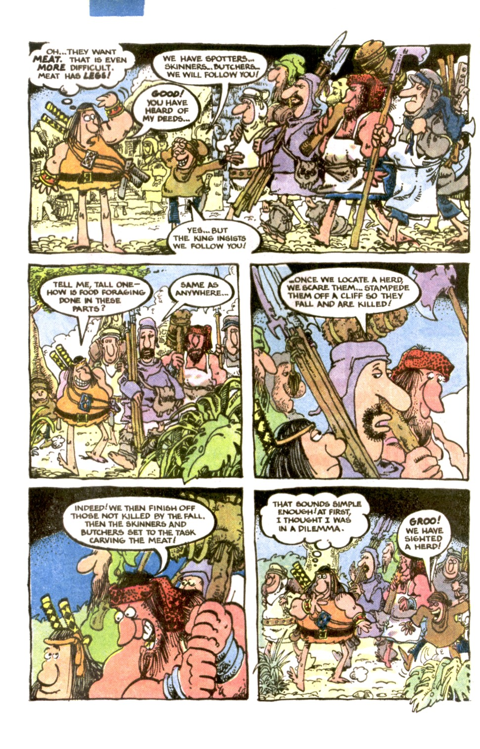 Read online Sergio Aragonés Groo the Wanderer comic -  Issue #1 - 5