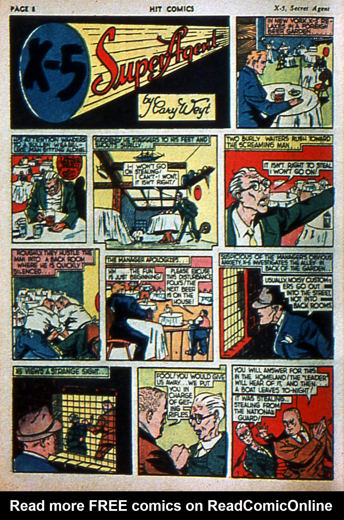 Read online Hit Comics comic -  Issue #3 - 10