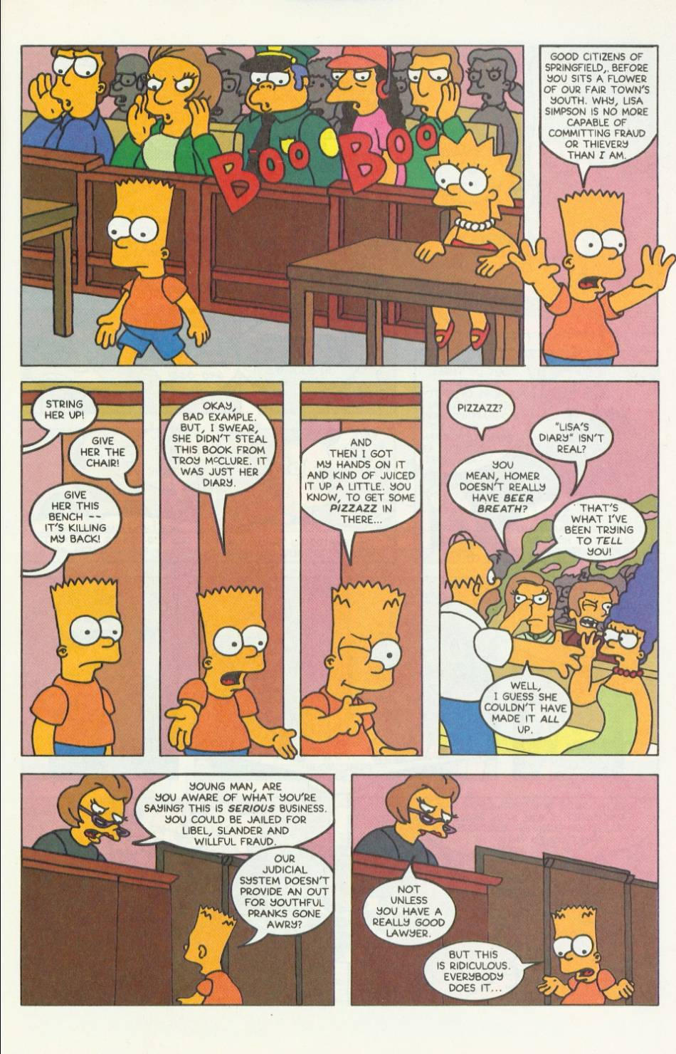 Read online Simpsons Comics comic -  Issue #9 - 20